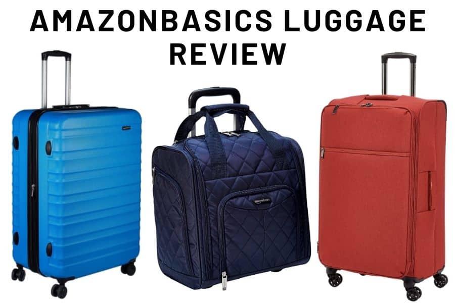 Amazonbasics Luggage Review