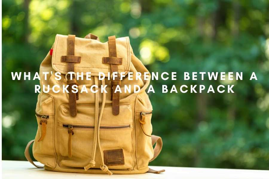 What's The Difference Between A Rucksack And A Backpack