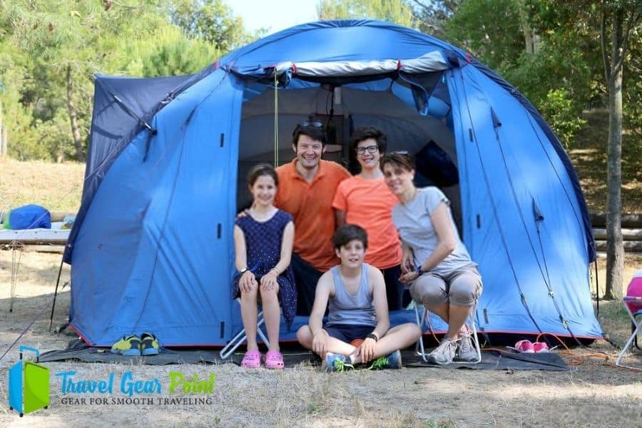 Heavy-Duty Camping Tent
