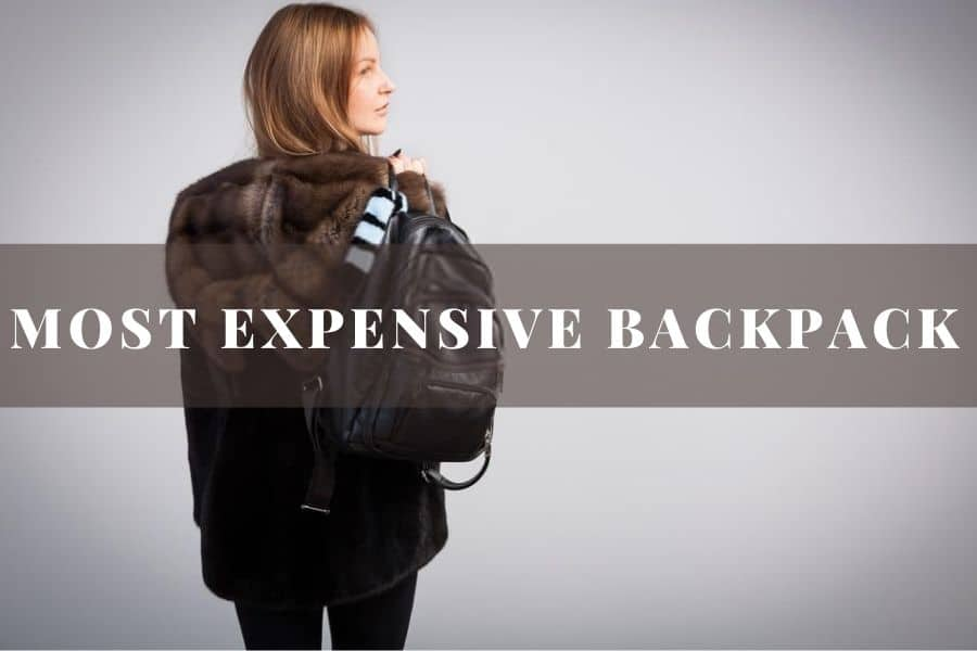 Most Expensive Backpack