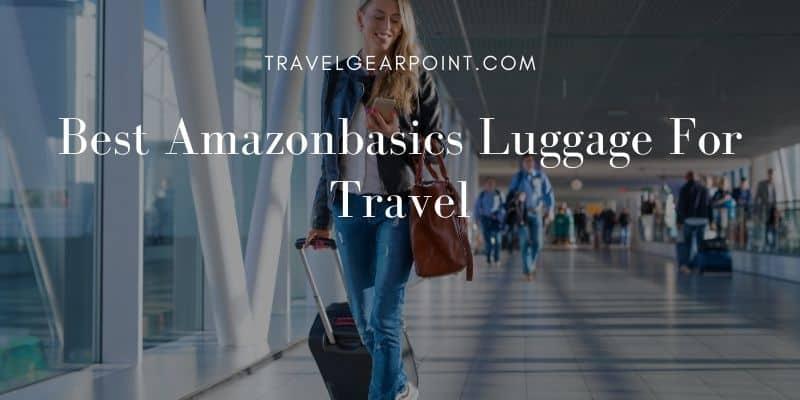 Best Amazonbasics Luggage For Travel